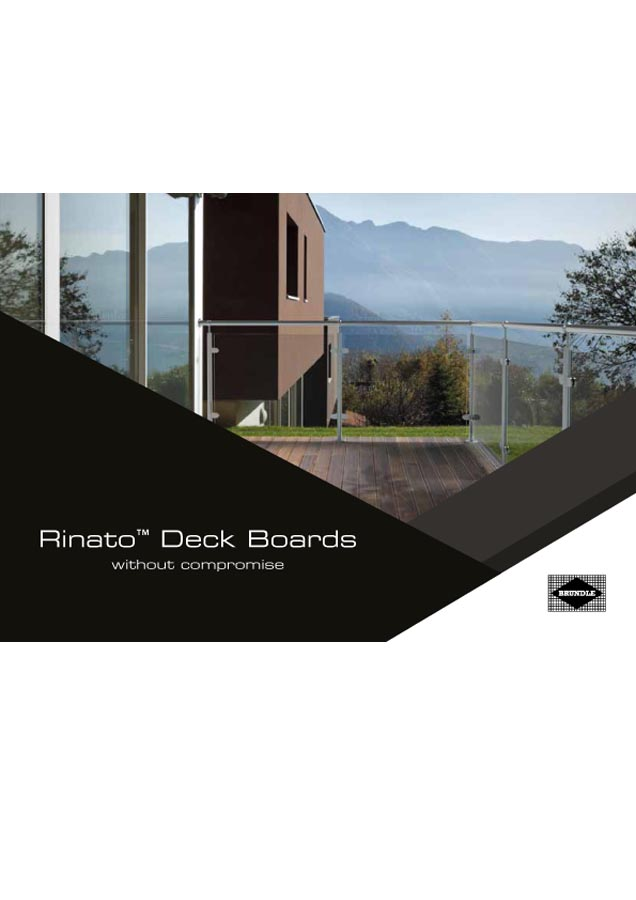 Rinato Deck Boards  Brochure