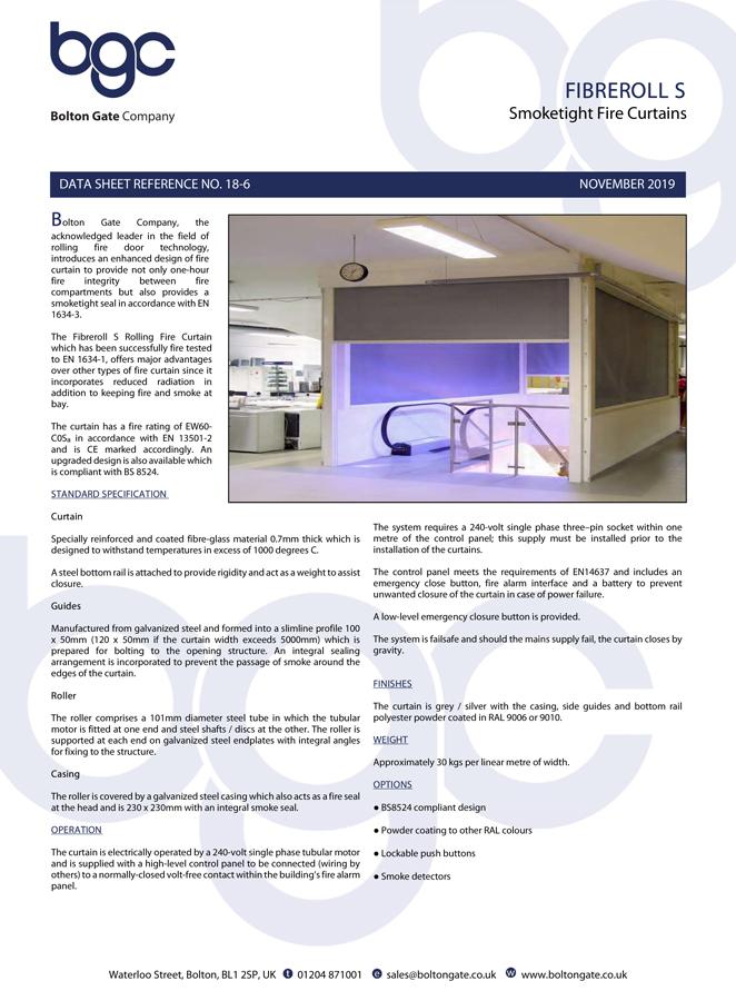 Fibreroll S Brochure