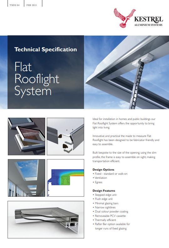 Flat Rooflight Datasheet  Brochure