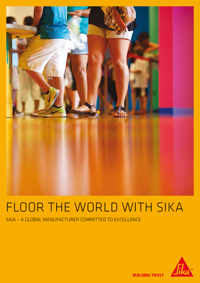 Floor the world with Sika Brochure