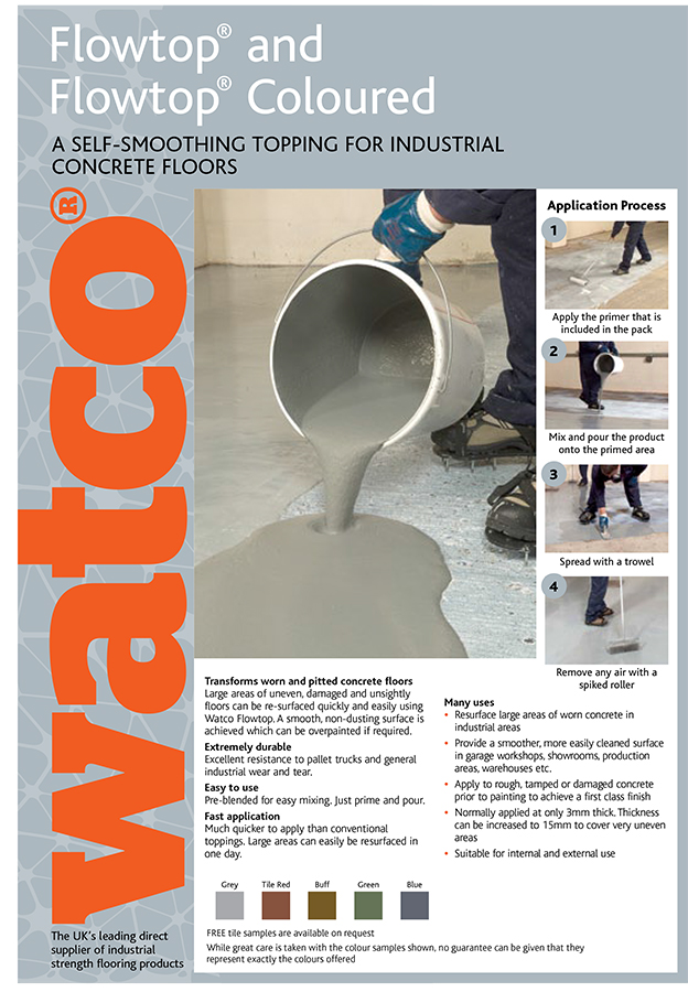Flowtop Brochure