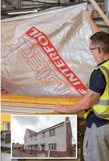 Four Seasons affordable housing scheme, Swansea Brochure