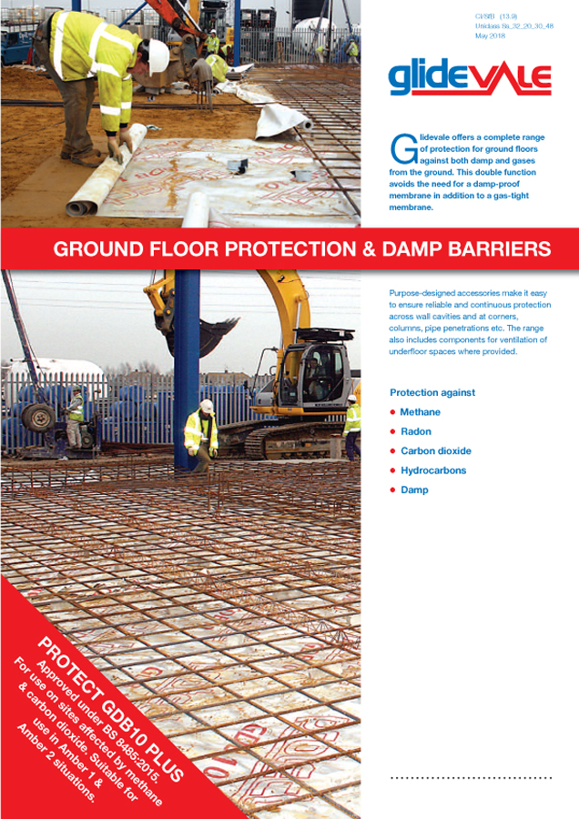 Ground floor protection and underfloor ventilation  Brochure