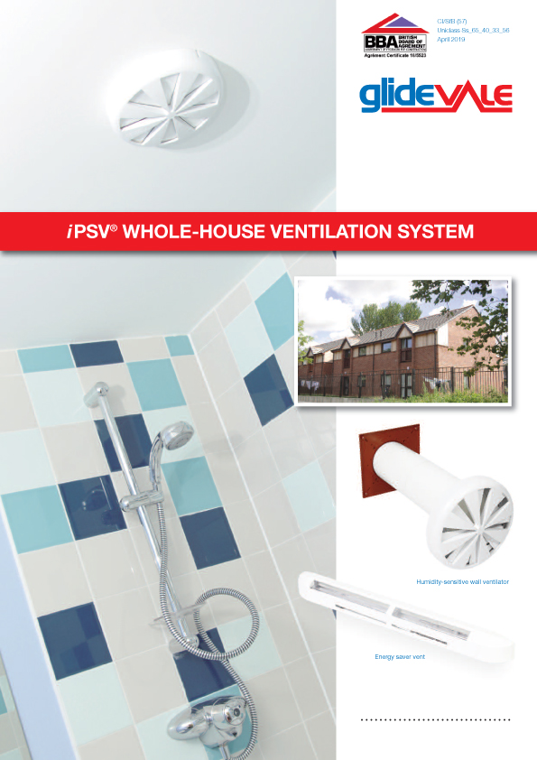 iPSV Whole House Ventilation System Brochure