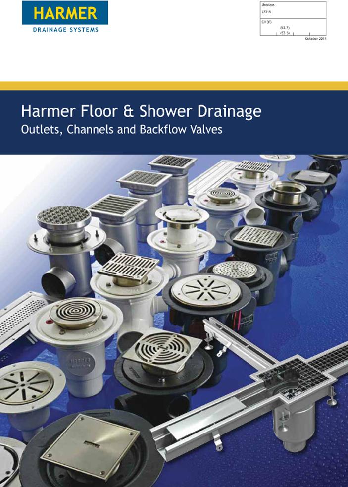 Harmer Floor & Shower Drains Brochure