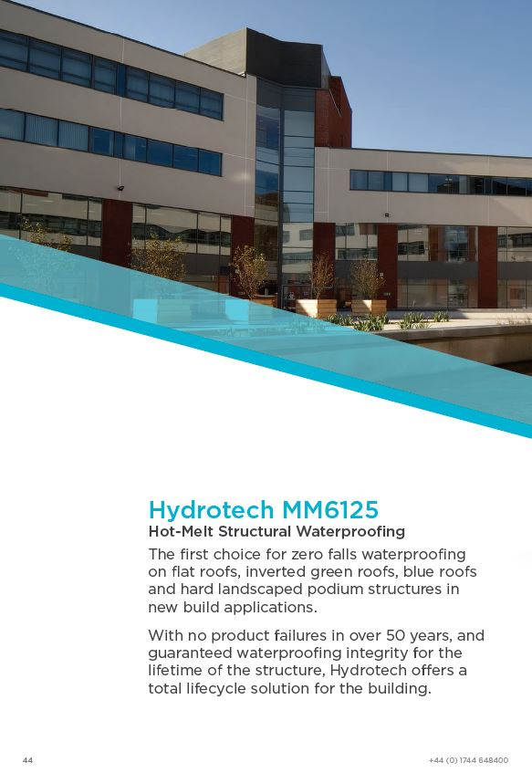 Hydrotech Hot-Melt Waterproofing Brochure 2015 Brochure