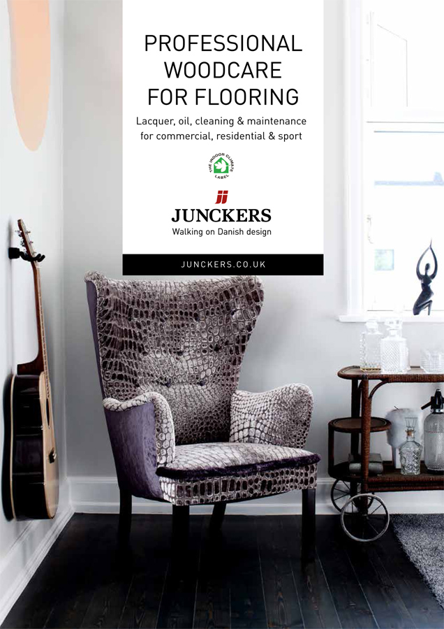 Junckers Woodcare Lacquer  Brochure