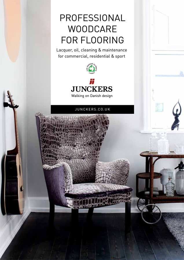 Professional Woodcare for Flooring Brochure