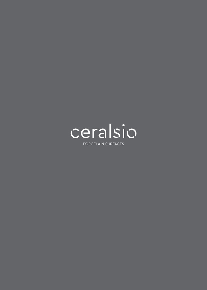 Ceralsio Porcelain surfaces Brochure