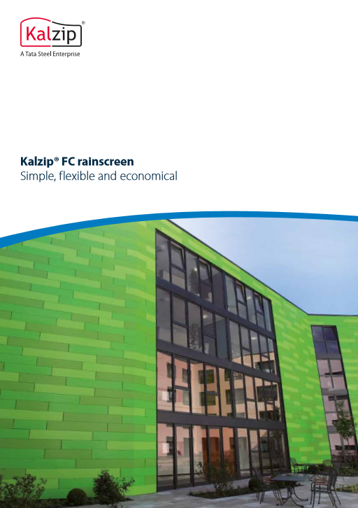 Kalzip® FC rainscreen Brochure