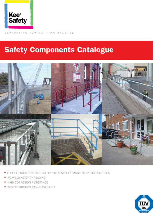 Safety Components Catalogue, Kee Safety Ltd, Guardrails Brochure