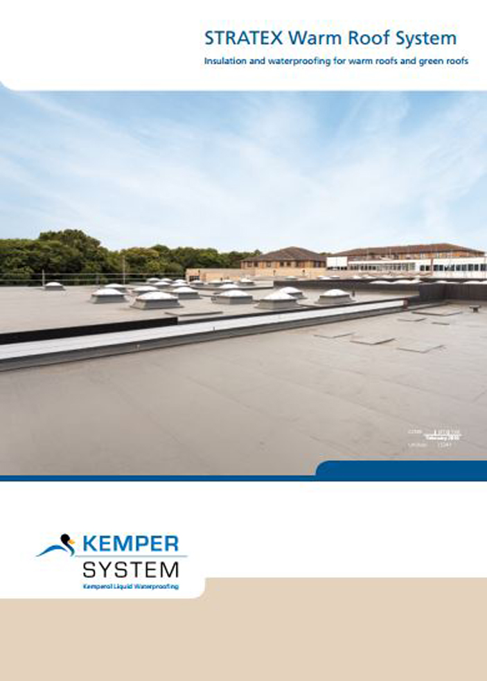 STRATEX Warm Roof System Brochure