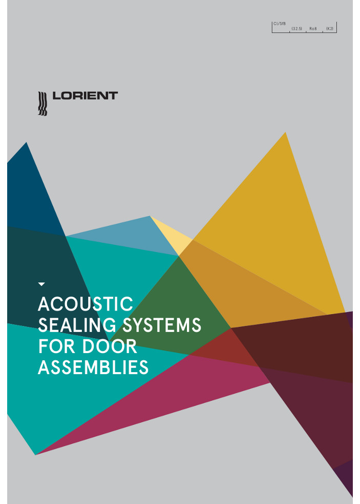 Lorient - Acoustic Sealing Systems for Door Assemblies Brochure