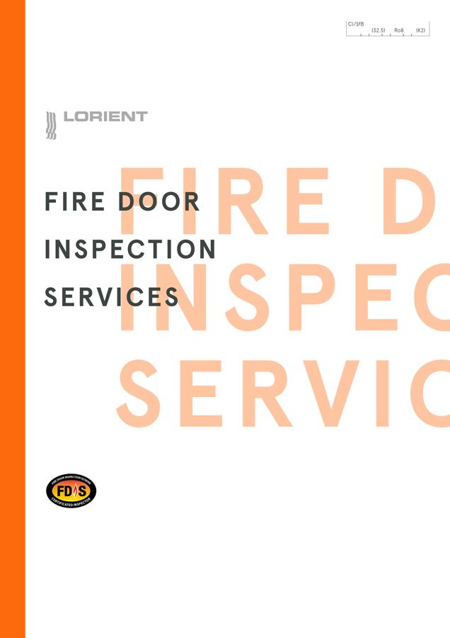 Lorient Fire Door Inspection Services Brochure