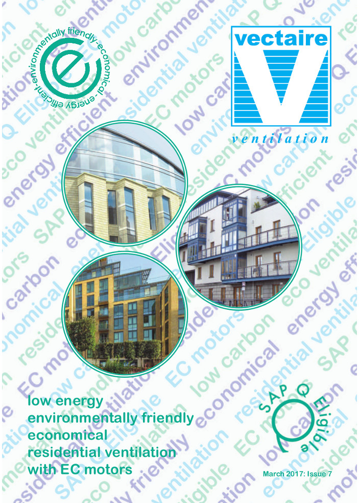 Low energy environmentally friendly economical residential ventilation with EC motors Brochure