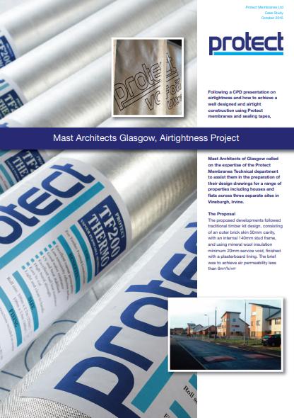 Mast Architects Glasgow, Airtightness Project Brochure