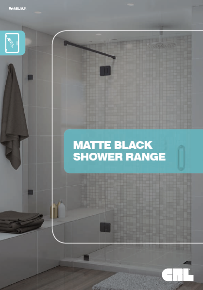 Matte Black Shower Range Brochure