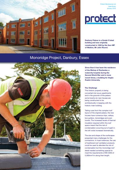 Monoridge Project, Danbury, Essex Brochure