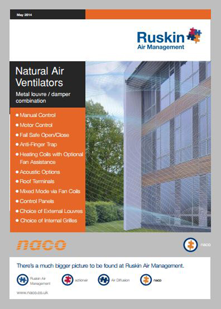 Naco - Natural Air Ventilators Brochure