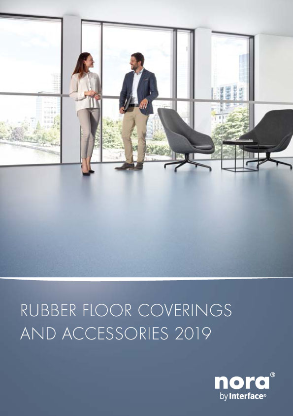 Rubber Floor Coverings and Accessories - nora rubber flooring Brochure