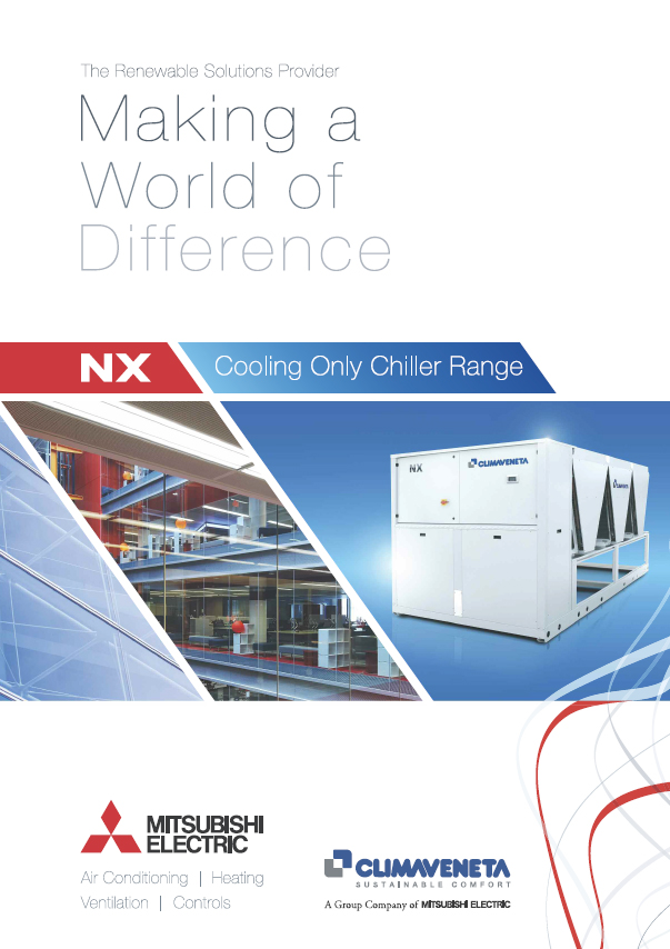 NX Cooling Only Chiller Range Brochure