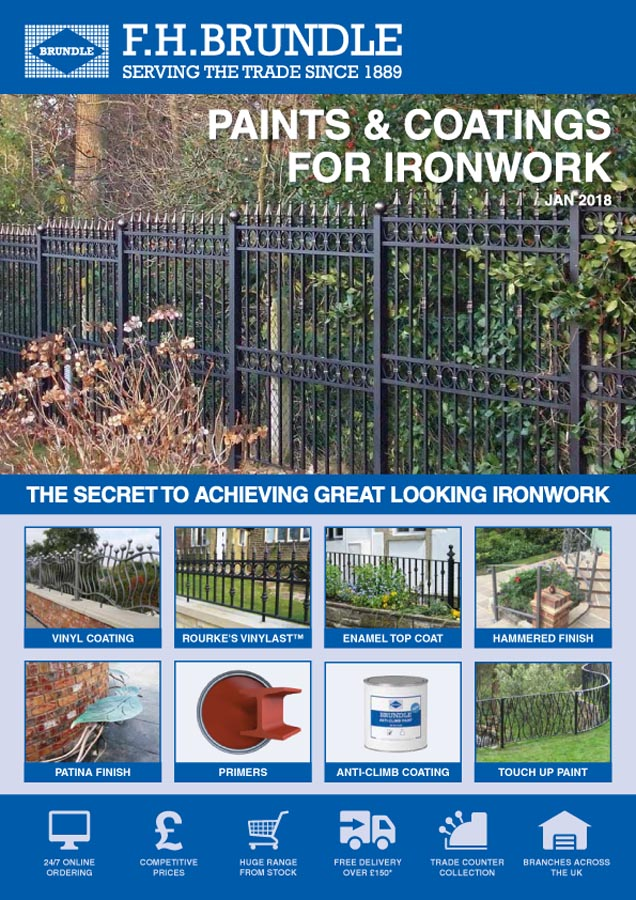 Paints and Coatings for Ironwork Brochure