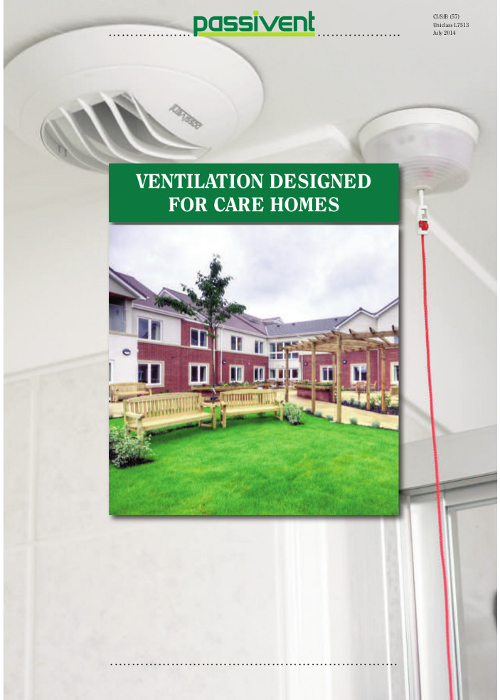 Ventilation Designed for care homes     Brochure