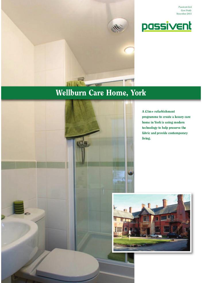 Wellburn Care Home, York Brochure