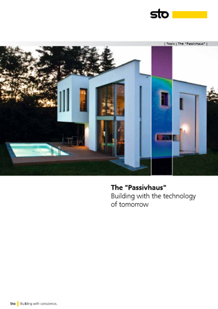 The 'Passivhaus' Brochure
