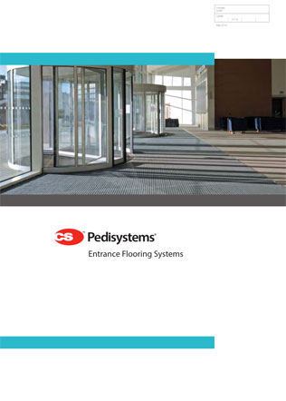 CS Pedisystems Entrance Flooring Systems Brochure