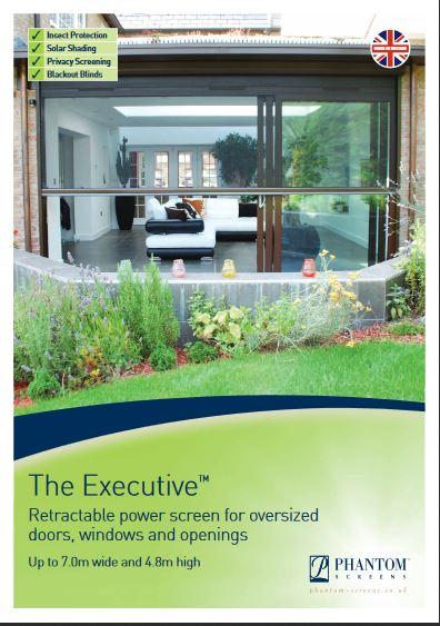 The Executive Power Screen Brochure