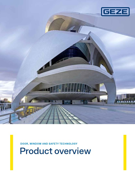 GEZE UK Product Overview  Brochure