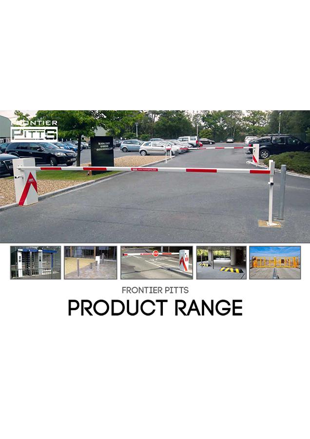 Frontier Pitts Product Range Brochure
