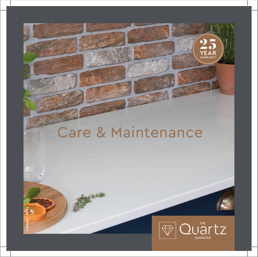 Quartz Care & Maintenance Brochure