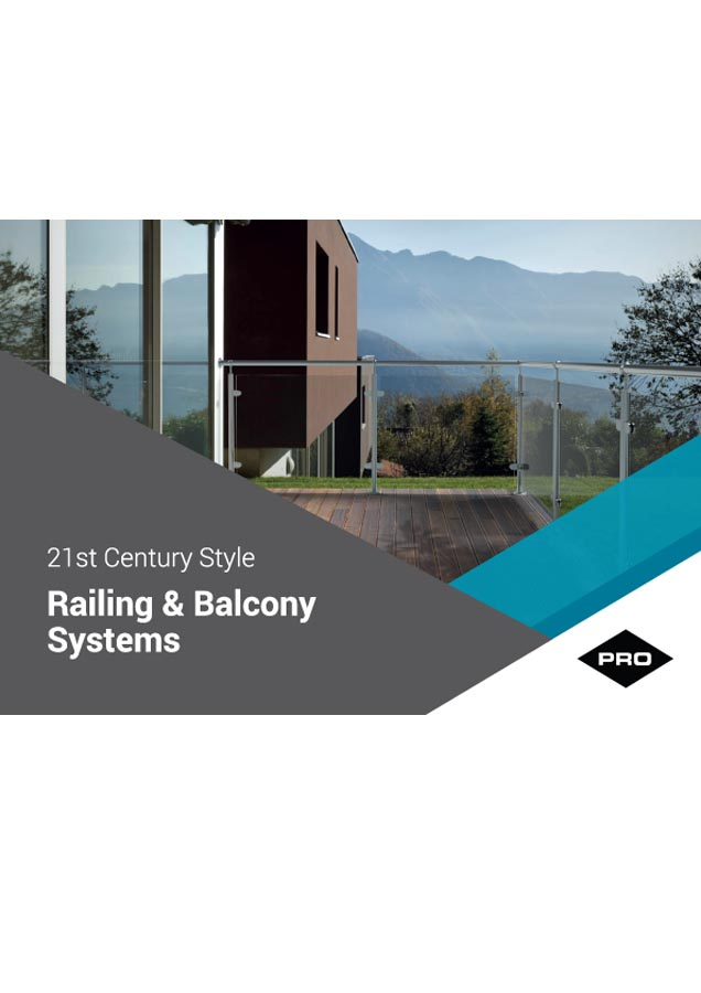 Railing & Balcony Systems   Brochure