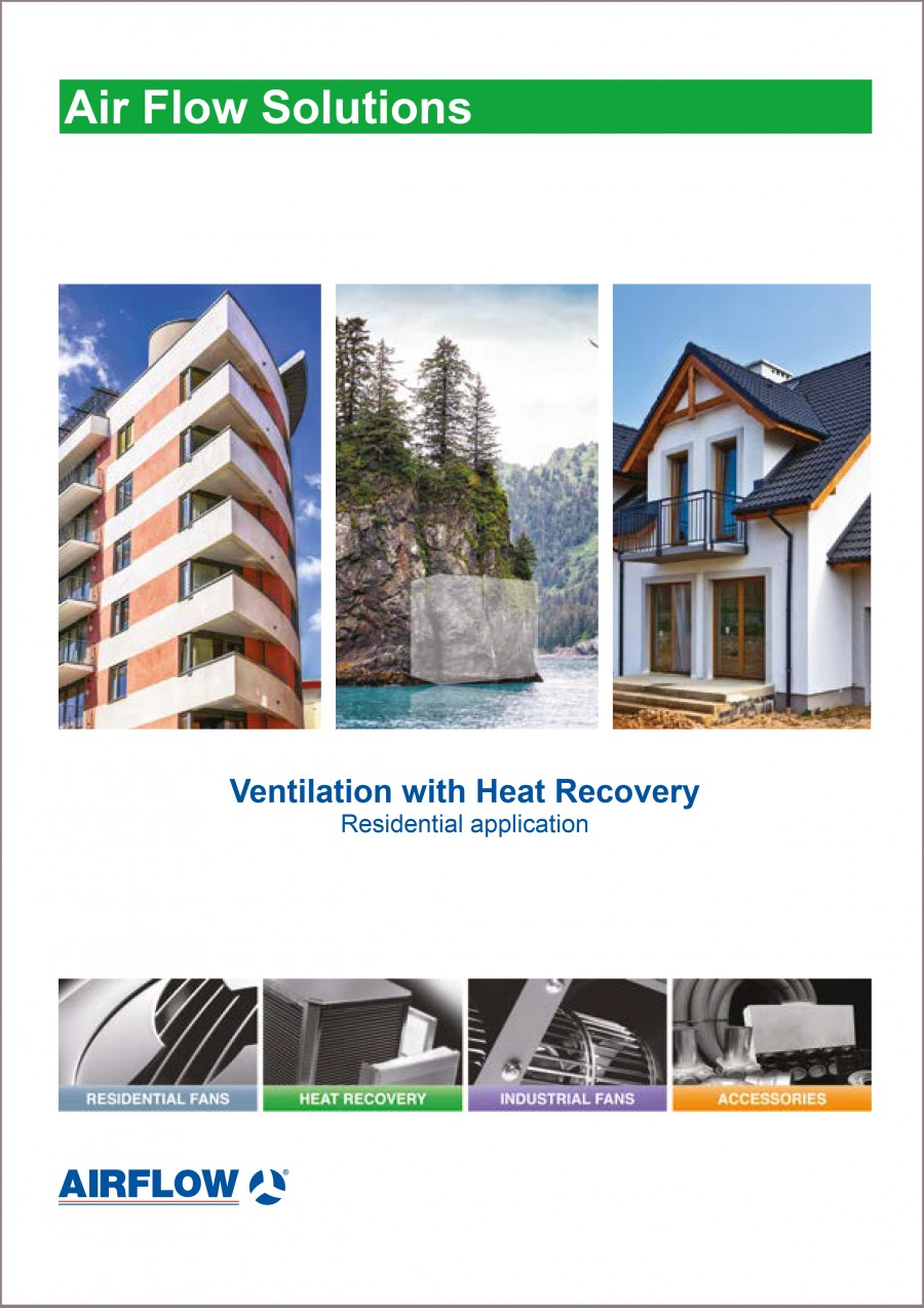 Residential Ventilation With Heat Recovery Brochure