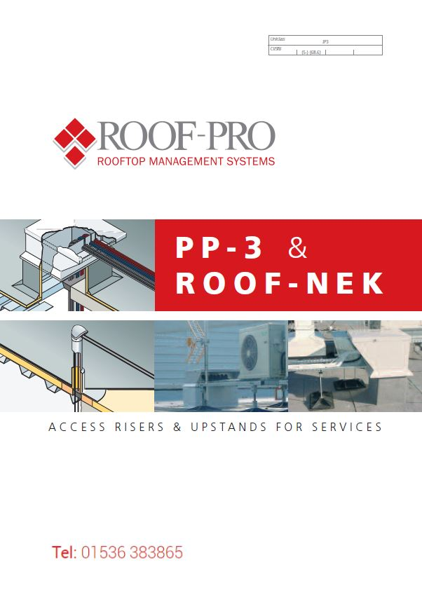 Roof-Pro Access Risers and Upstands brochure Brochure