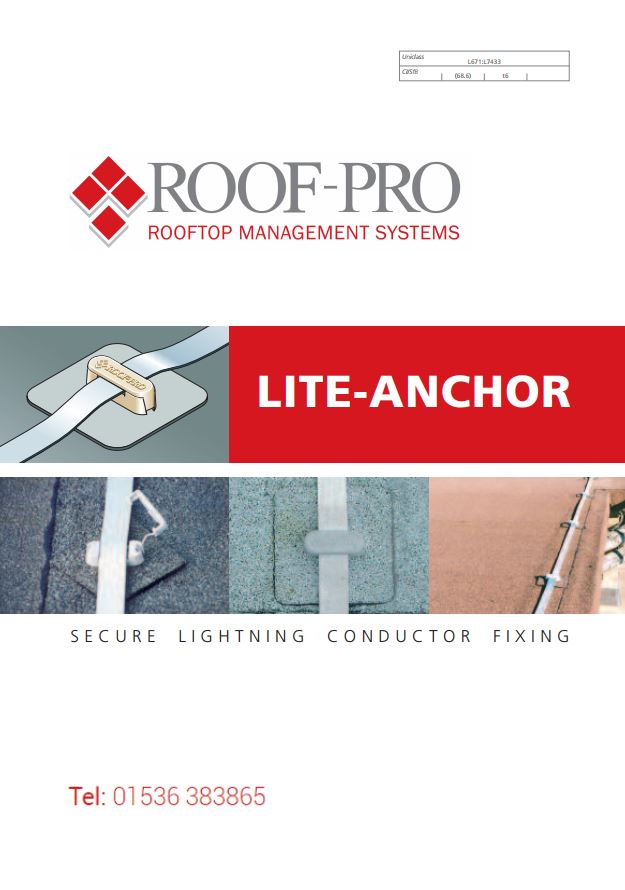 Roof-Pro Lightning Conductor Fixing Brochure Brochure