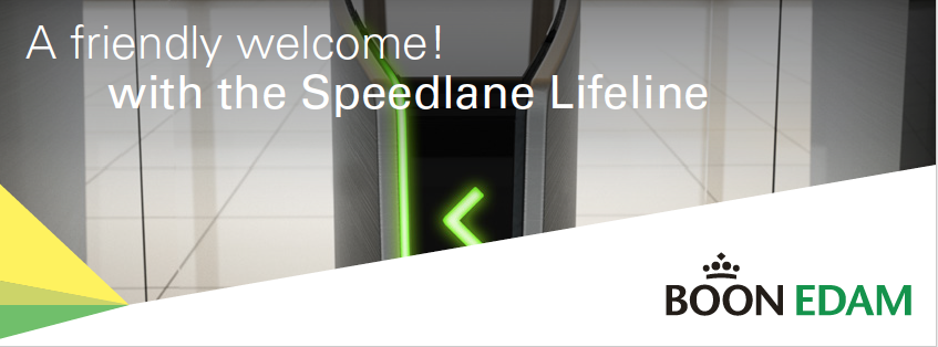A friendly welcome! with the Speedlane Lifeline Brochure