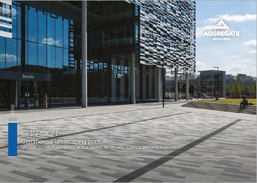 Charcon Commercial Landscaping Portfolio Brochure