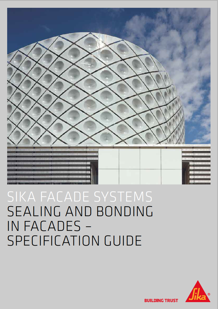 Sealing and Bonding in Facades - Specification Guide Brochure