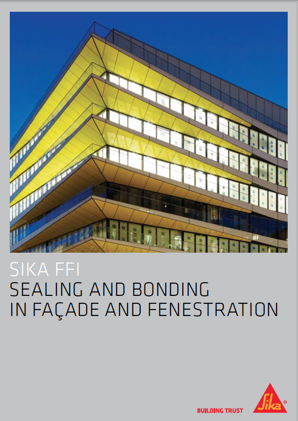 Sika FFI -  Sealing and Bonding in Façade and Fenestration Brochure