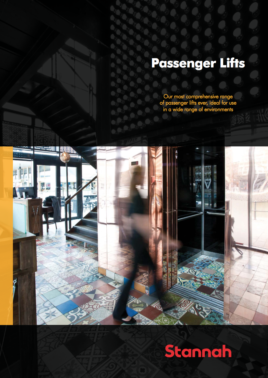 Passenger Lifts  Brochure