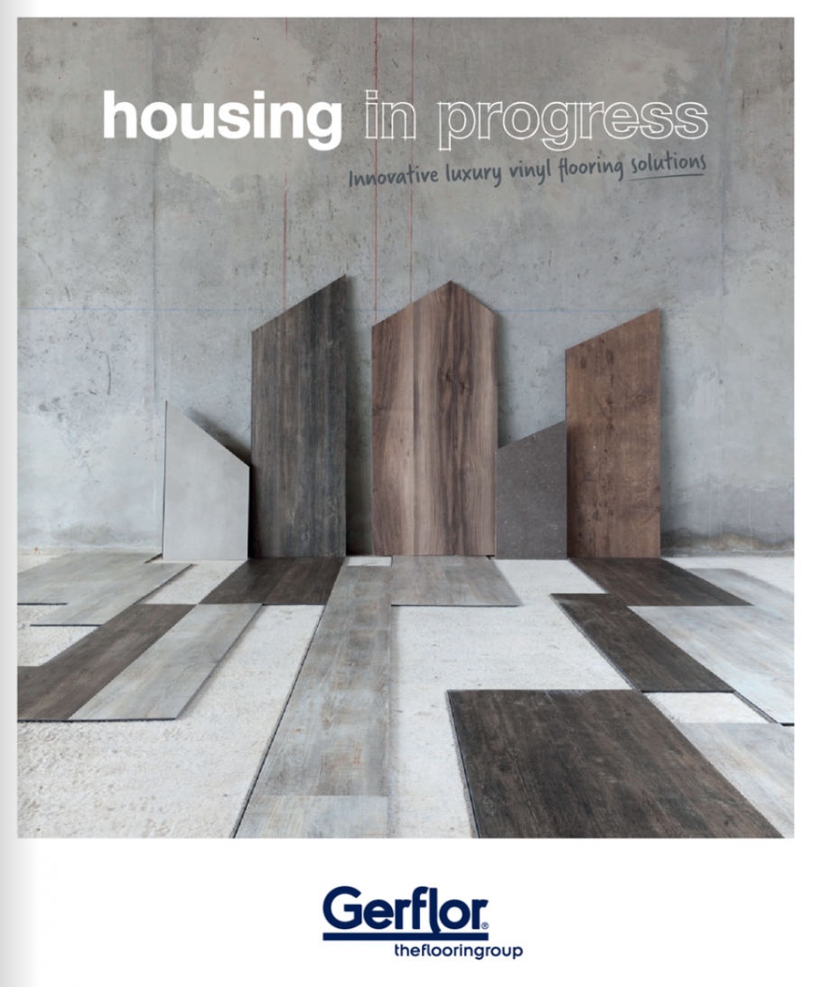 Housing in Progress - New Build & Refurbishment  Brochure