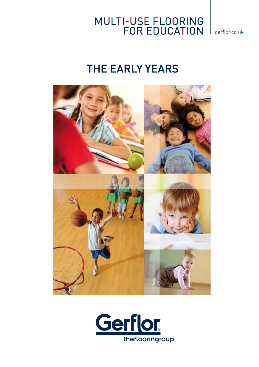 Multi-Use Flooring for Education (The Early Years) Brochure