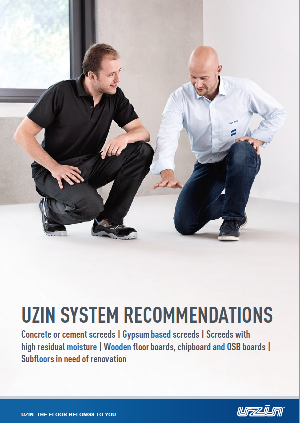 Floor System Recommendations Brochure