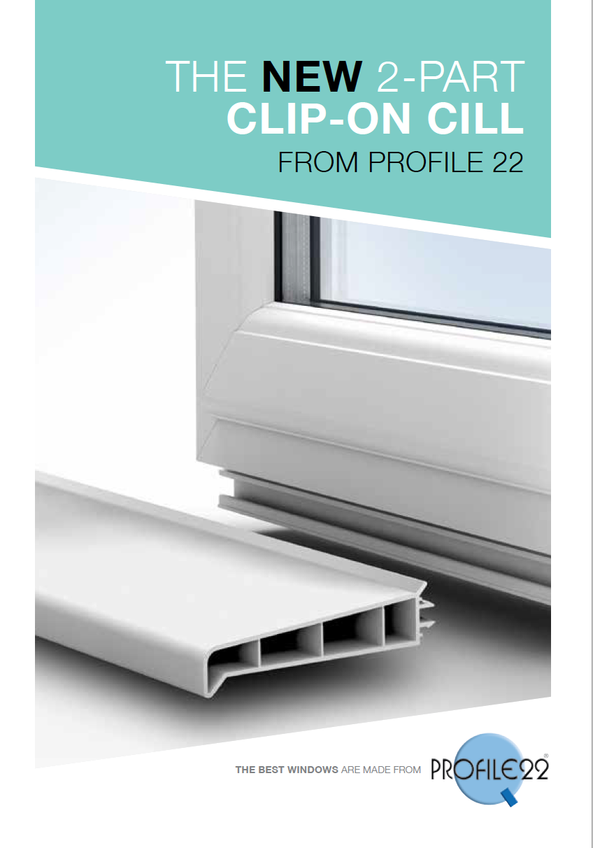 The New 2-Part Clip-On Cill  Brochure