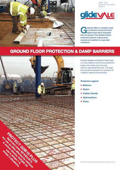 Ground floor protection and underfloor ventilation  Brochure