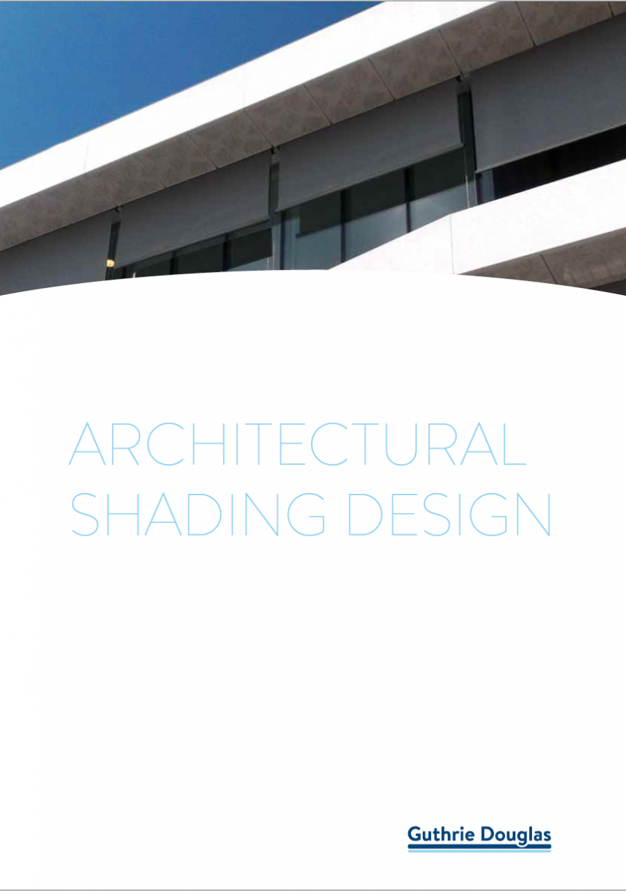 Architectural Shading Design Brochure