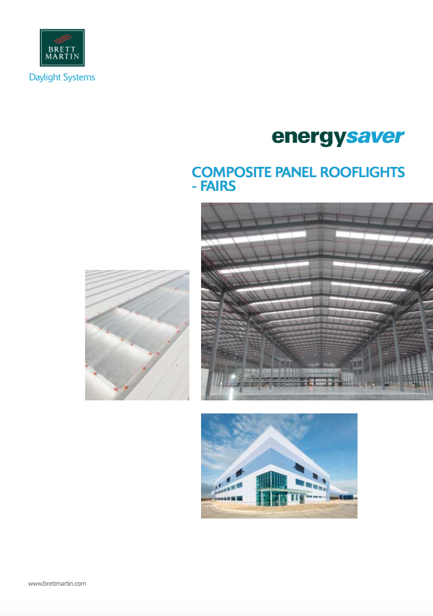 Energysaver composite panel rooflights FAIRS Brochure